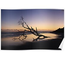 Dawn at Kingscliff Beach ... Poster