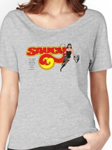 Saucy 69 with logo Women's Relaxed Fit T-Shirt