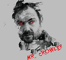 Mister Crowley Watercolor by Ryleh-Mason