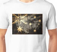 Grunge Australia Flag Unisex T-Shirt