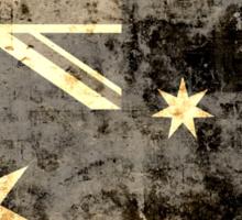 Grunge Australia Flag Sticker