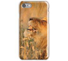 Alpha Male Lion Roaring iPhone Case/Skin