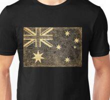 Grunge Australia Flag 2 Unisex T-Shirt