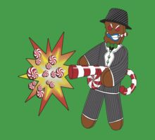 Gingerbread Gangster by SRowe Art