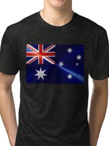 Australia Flag Tri-blend T-Shirt
