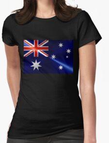 Australia Flag Womens Fitted T-Shirt