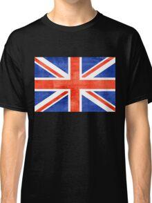 Grunge United Kingdom Flag Classic T-Shirt