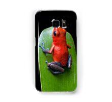 Red poison dart frog Samsung Galaxy Case/Skin