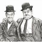 Mr Laurel & Mr Hardy by L K Southward
