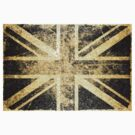 Grunge United Kingdom Flag 4 by Nhan Ngo