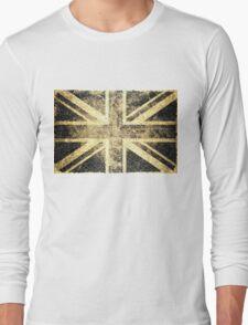 Grunge United Kingdom Flag 4 Long Sleeve T-Shirt