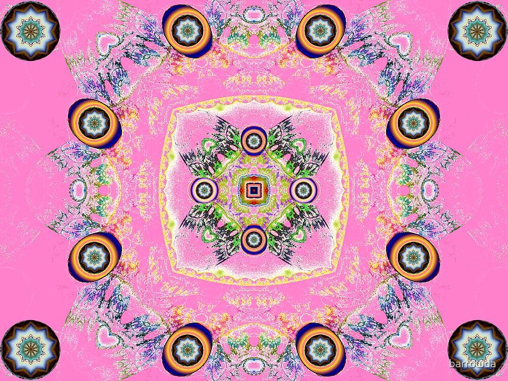 Tut54#14: Signets on Pink  (G1139) by barrowda