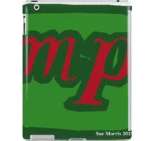 Mezzo Piano Dynamic mp Red I iPad Case/Skin