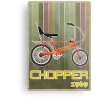 Chopper Bicycle Metal Print