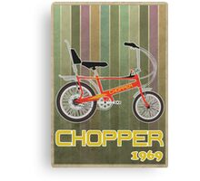 Chopper Bicycle Canvas Print