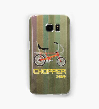 Chopper Bicycle Samsung Galaxy Case/Skin