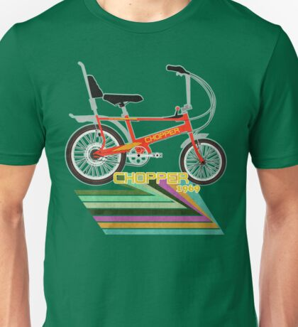 Chopper Bicycle Unisex T-Shirt
