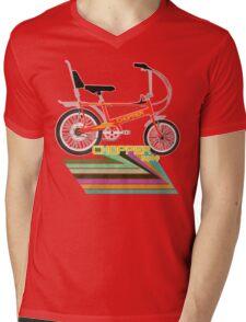 Chopper Bicycle Mens V-Neck T-Shirt