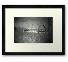 next spring coming Framed Print