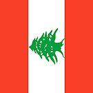 Lebanon Flag by pjwuebker