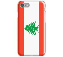Lebanon Flag iPhone Case/Skin