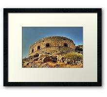 Spinalonga Framed Print
