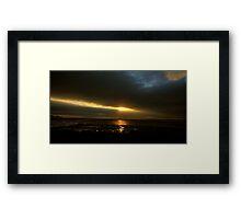Foryd Bay Framed Print