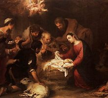 Adoration of the Shepherds  Bartolome Esteban Murillo by Adam Asar