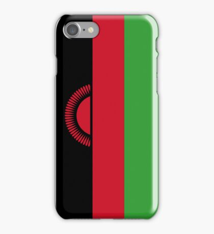 Malawi Flag iPhone Case/Skin