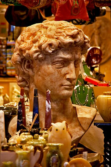Roman Visage by phil decocco