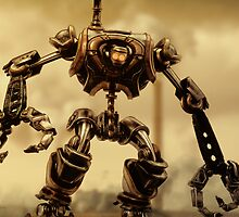 Steampunk Mechanoid by Liam Liberty