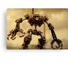 Steampunk Mechanoid Canvas Print
