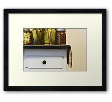 OH Can it!  Framed Print