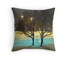 Swedish Winter Throw Pillow