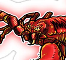 Red Scorpion Sticker