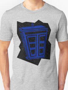 Minimalist TARDIS Unisex T-Shirt