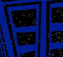 Minimalist TARDIS Sticker