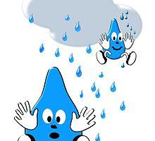 Regen ,regen, Raindrops  by Birgits