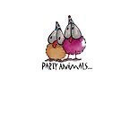 PaRtY aNiMaLs... by StressieCat