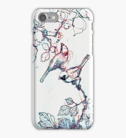 Asian Ink Birds iPhone Ipod iPhone Case iPhone Case/Skin