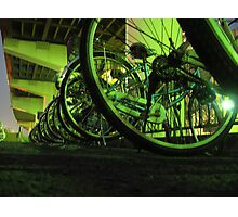 bicycles in Tokyo  Photographic Print