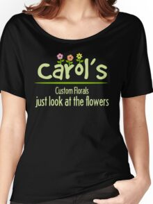 Look at the Flowers Women's Relaxed Fit T-Shirt