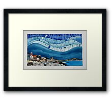 I must go down to the sea Framed Print