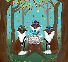 A Foxy Tea Party by Ryan Conners
