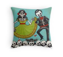 The Mexican Hat Dance Throw Pillow
