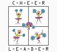 Cheerleader by SportsT-Shirts