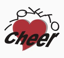 I Love To Cheer by SportsT-Shirts