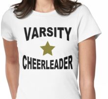 Varsity Cheerleader Womens Fitted T-Shirt
