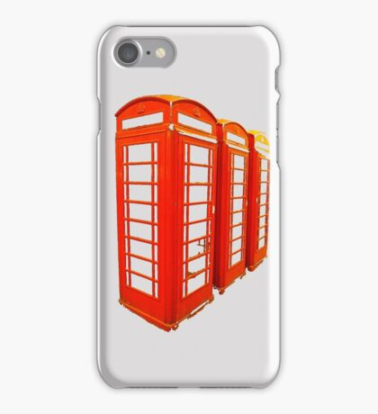 London Call Box iPhone iPod Case iPhone Case/Skin