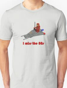 I miss the 80s (especially my Lego) T-Shirt